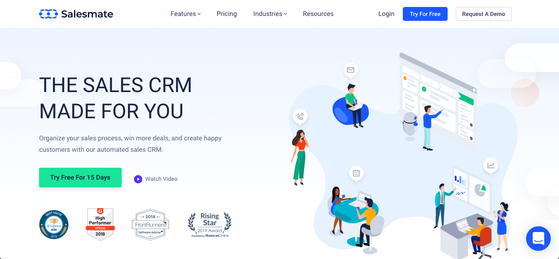 Salesmate CRM