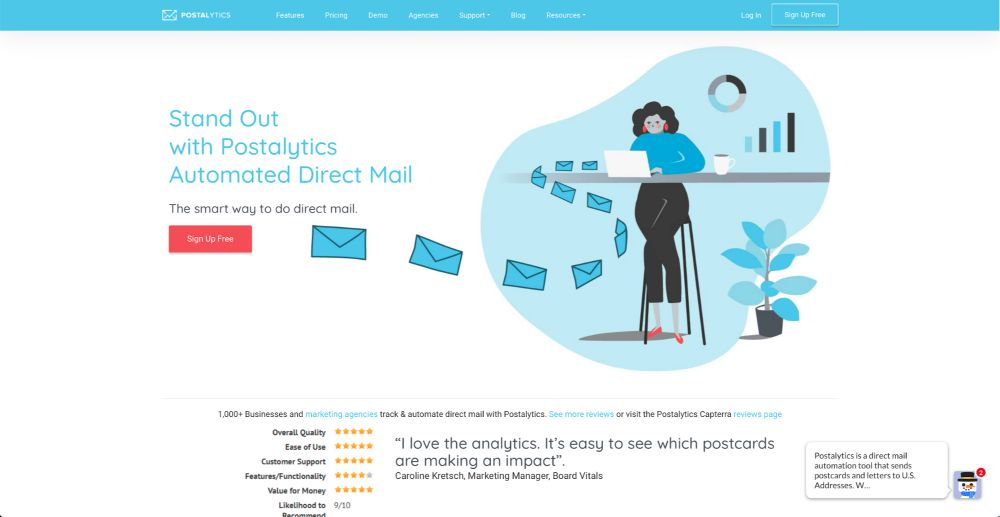 Direct Mail: Postalytics